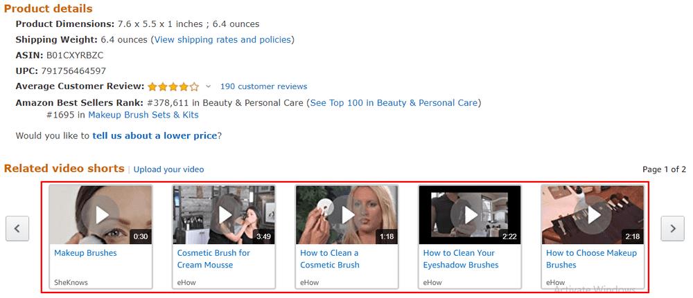 10 amazon video content example