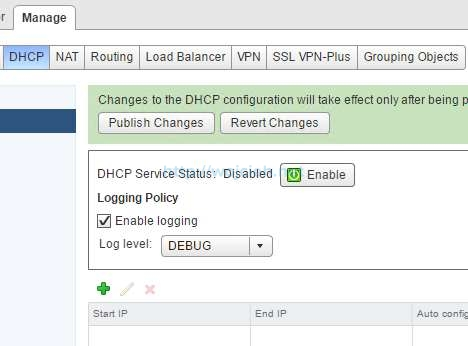 How to change logging level in NSX - 13
