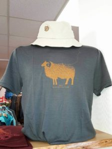 Stylish Merino Tee with Hat