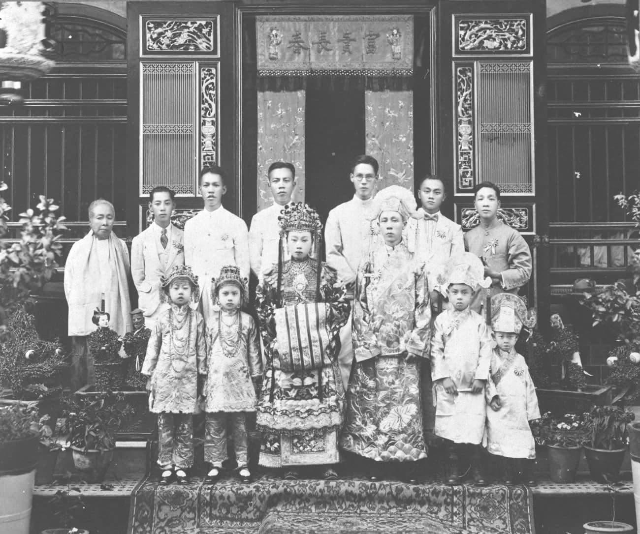 土生华人的婚礼,1925年