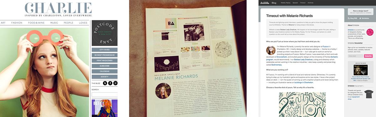 Press for Badass Lady Creatives