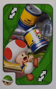 Mario Kart Green Uno Reverse Card