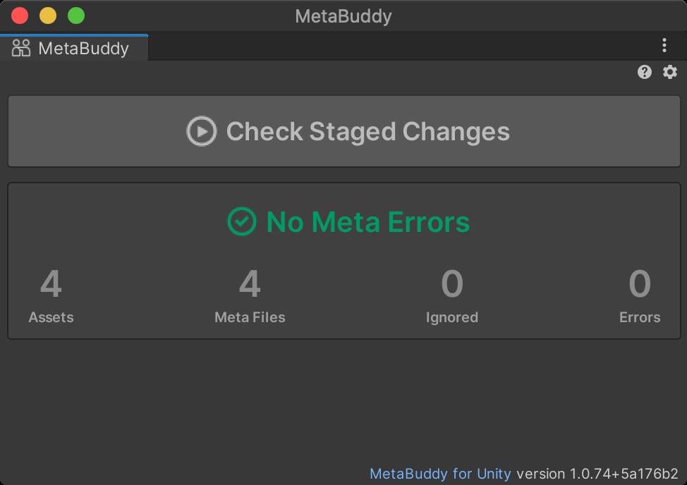 MetaBuddy Showing No Errors