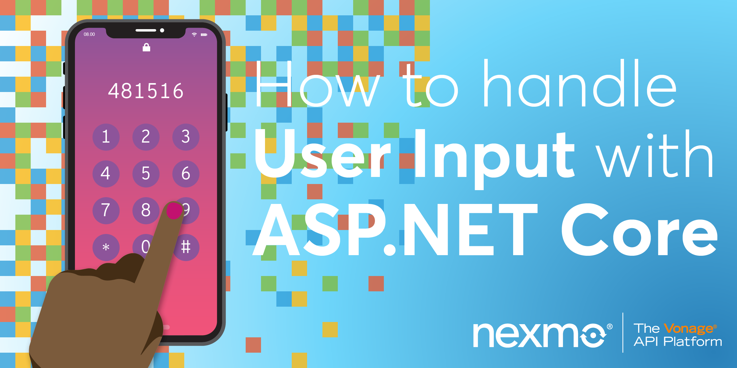 How to Handle User Input With ASP.NET Core