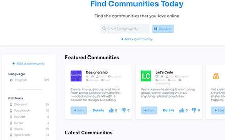 Find Communities