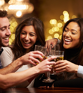Social Event - Group toast
