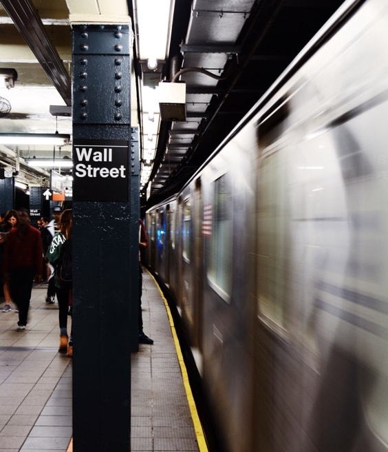 NYC Subway Wall Street
