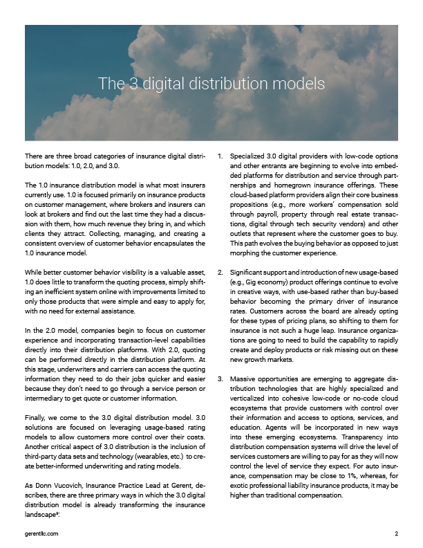 What Insurers Need to Know About The 3.0 Digital Distribution Transformation Right