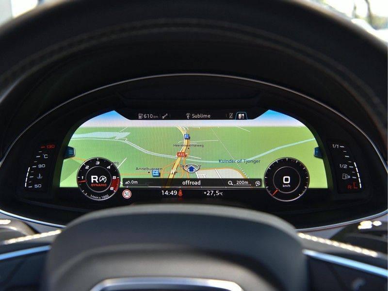 Audi SQ7 4.0TDI Quattro S-Line Individual Lucht Softcl Standk HUD M-Led Rauten Bose Alcant-hemel Leder-Dash afbeelding 17
