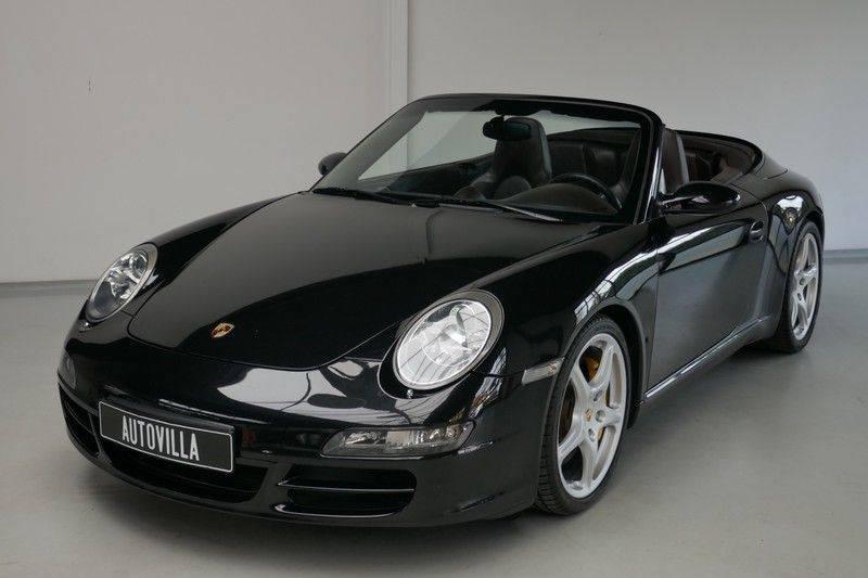 Porsche 911 Cabrio 3.8 Carrera S Keramisch - Sport chrono afbeelding 2