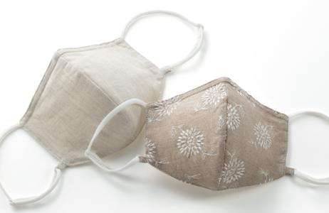 皮膚科医と共同開発した肌側シルク100%高機能マスク