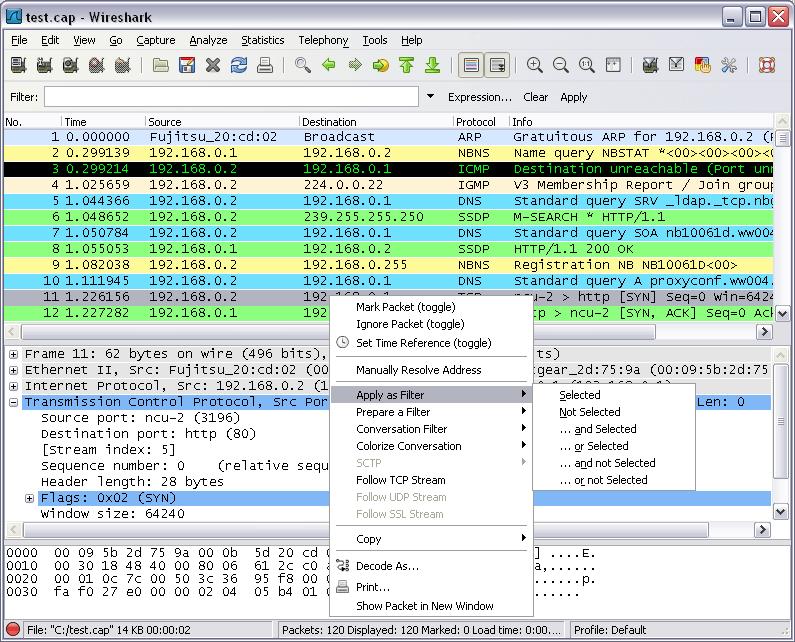 7  Travailler avec des captures Wireshark - Le Protocole SIP