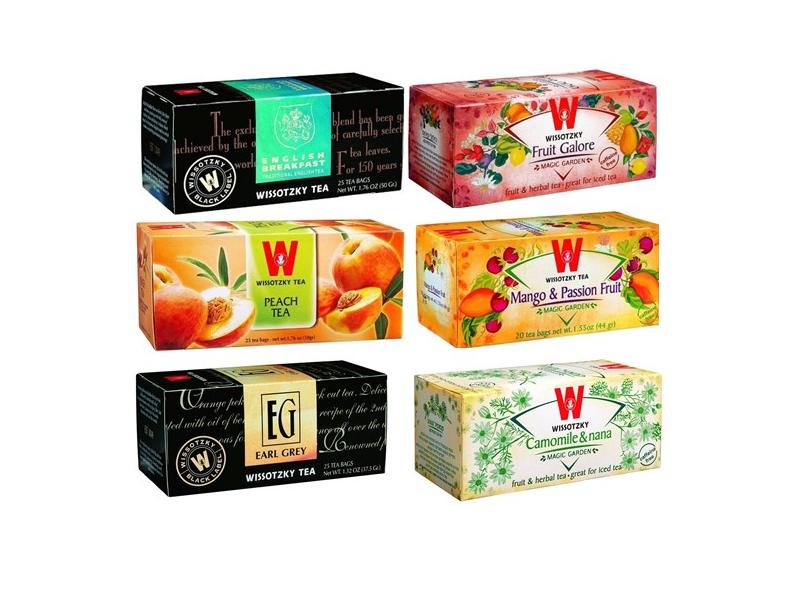 Wissotzky Tea Range (25 Tea Bags)