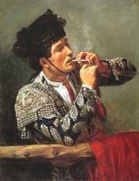 'After the Bullfight' by Mary Cassatt (1873)