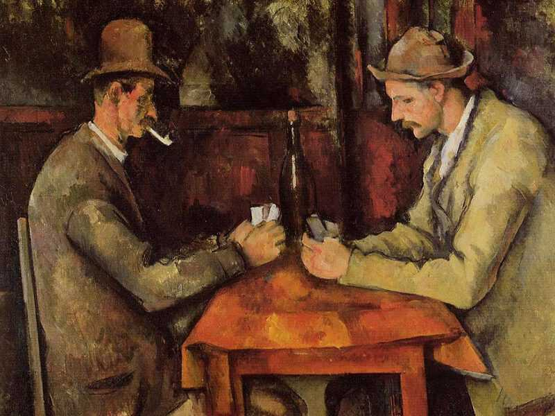 Cezanne's Card Players holds the world record for being the most expensive impressionist work: it was sold for $259 million in 2011