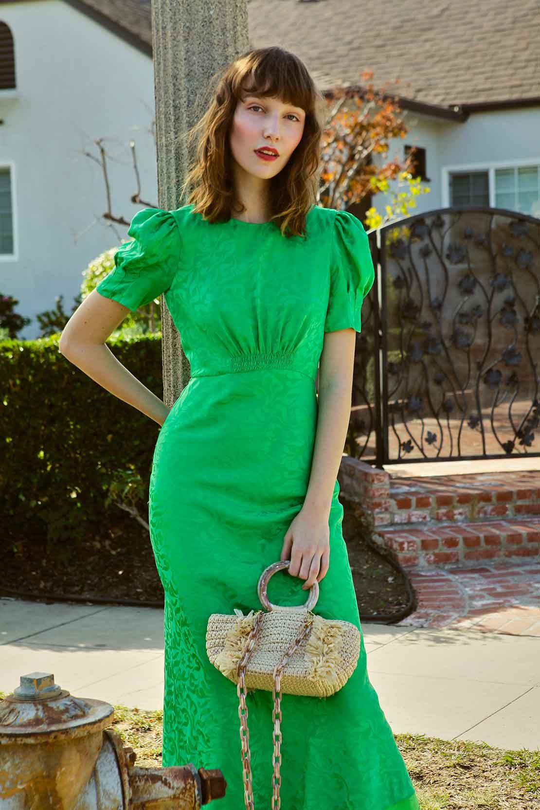 SALONI - dress Bianca