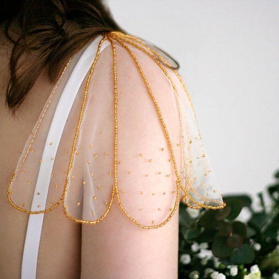 Mancherons transparents en forme de fleur