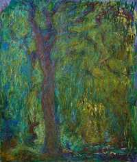 Monet's Saule Pleureur (Weeping Willow) was sold by Christie's London for £8.9 million in May 2018