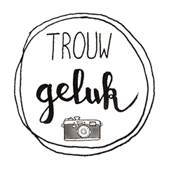 Logo trouwgeluk trouwfotograaf in Den Bosch