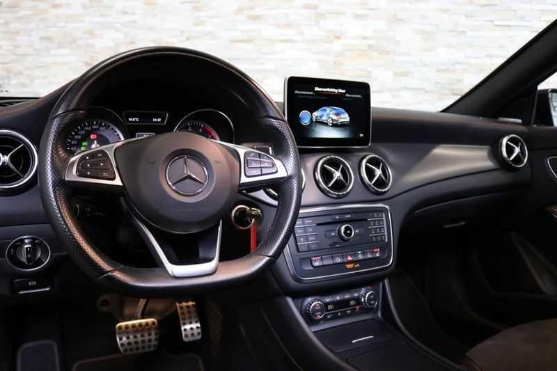 Mercedes-Benz CLA-Klasse Shooting Brake 200 OrangeArt Edition | VERKOCHT! | | Panoramadak | Memory stoelen | AMG Pakket | Night Pakket | Achteruitrijcamera | afbeelding 24