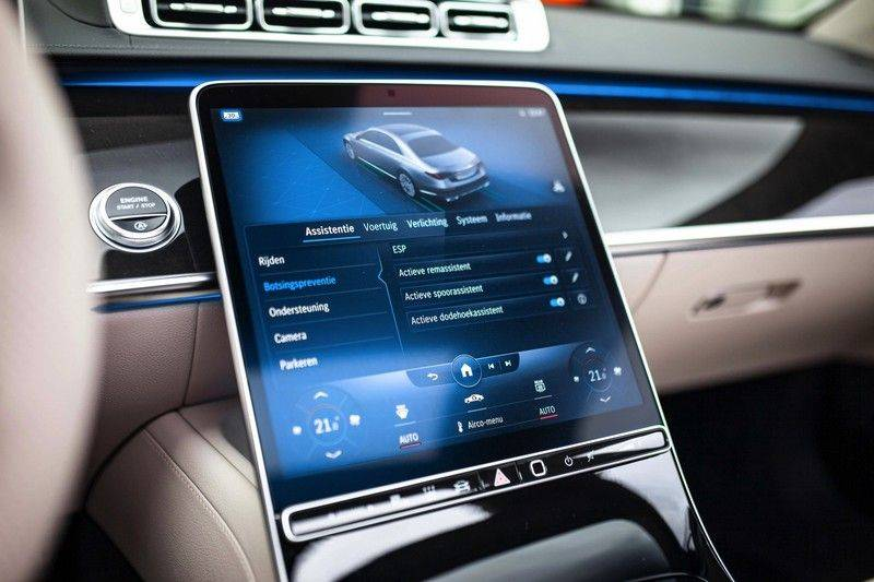 "Mercedes-Benz S-Klasse 500 4Matic Lang AMG NP €193.000 *Pano / 3D Burmester / HUD / Distronic / 21"" / 3D Display* afbeelding 20"
