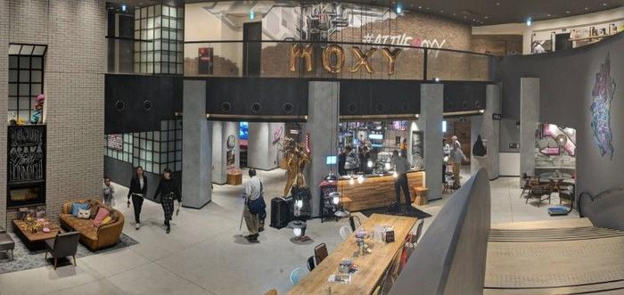 Our home in Osaka, the Moxy