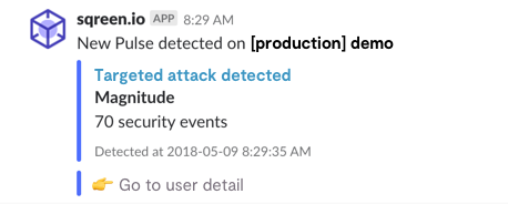 Slack Notification Targeted Attack