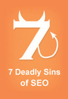 7 deadly sins of ecommerce seo end