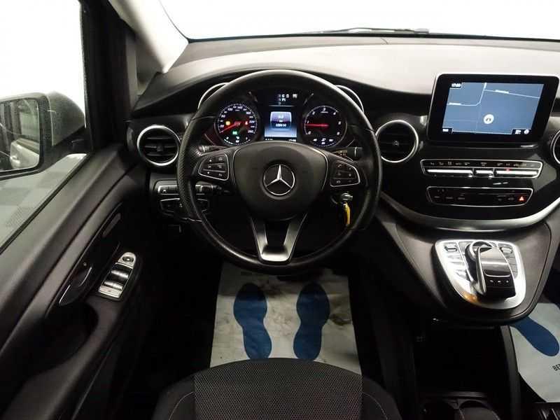 Mercedes-Benz V-Klasse 220 CDI Lang Dubbel Cabine 5/6 Pers Amg Style Autom- Navi, Camera, Xenon afbeelding 13