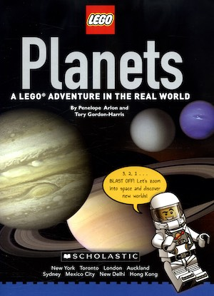 Lego planets book