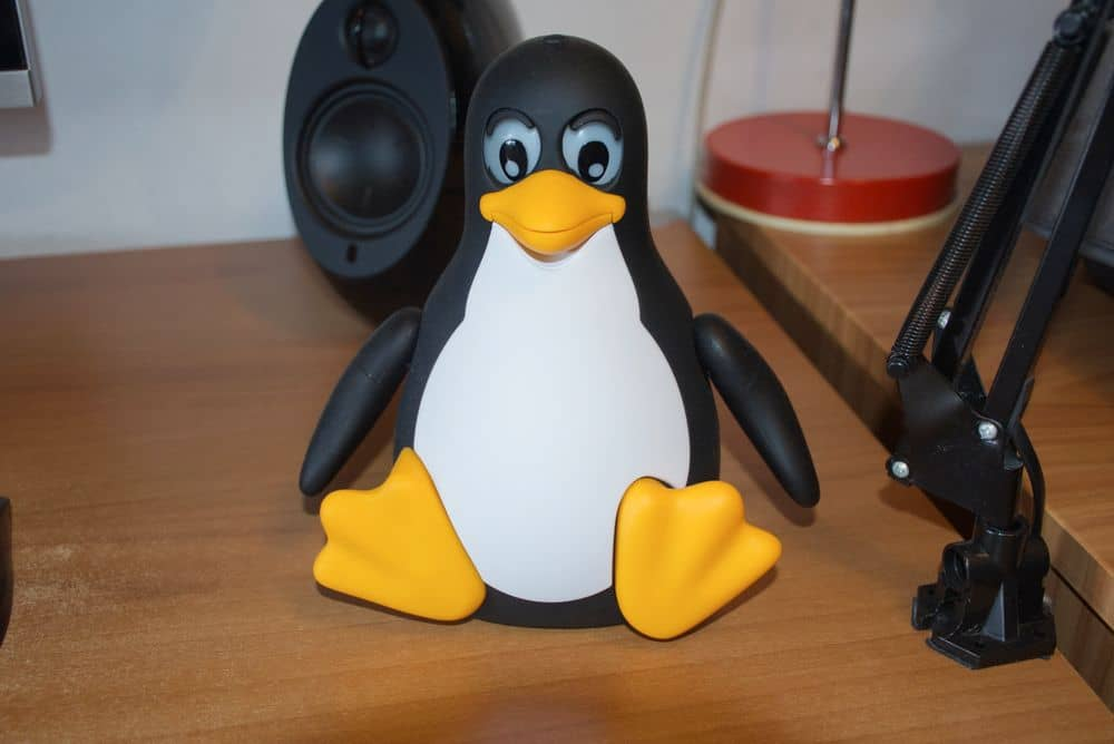 My penguin robot, TuxDroid