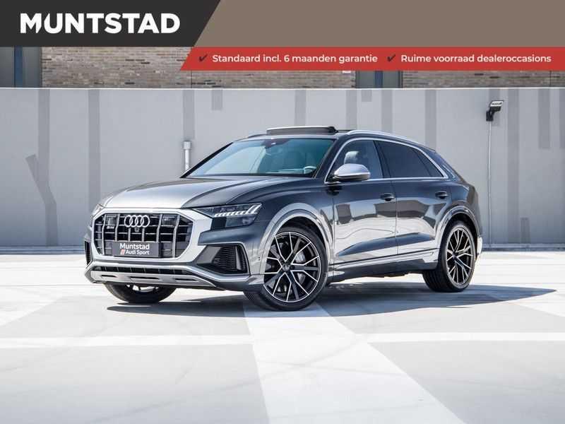 Audi SQ8 4.0 TDI SQ8 quattro 435PK | Pano.Dak | B&O Premium Sound | Nachtzicht | 360 Camera | Head-Up | S-Sportstoelen | 4Wiel-besturing | Garantie tot 10-2024* | Massagestoelen | Carbon |