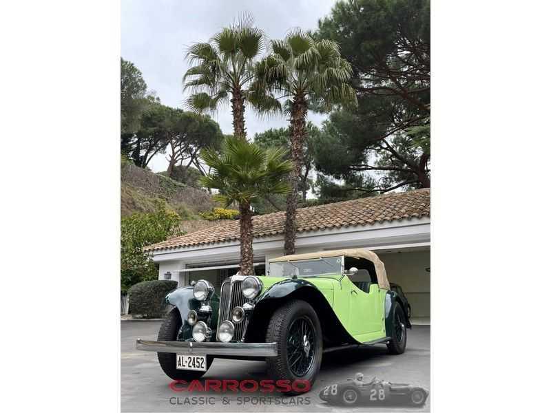 Jaguar SS1 2 ½ litre 20HP open-top four-seater Tourer afbeelding 21