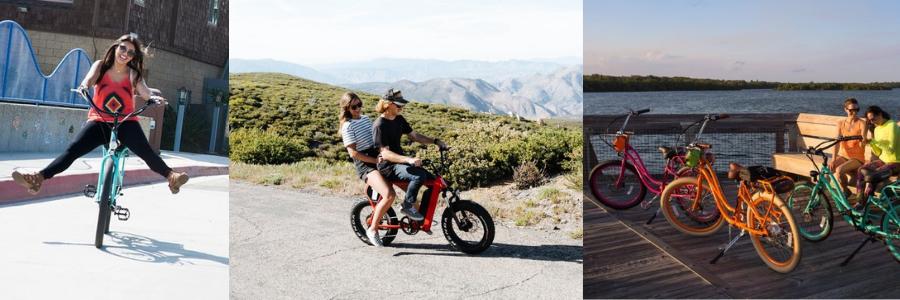 Rad Power Bikes vs. Pedego Electric Bikes vs. Juiced Bikes Article Image