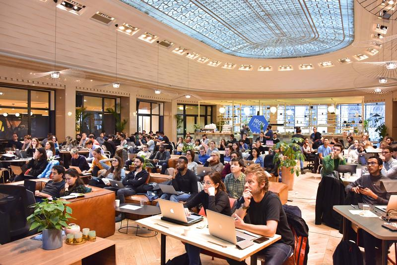 Attendees at the WeCode Paris