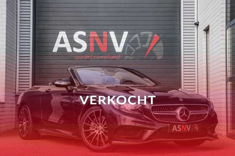 Mercedes-Benz S-Klasse Cabrio 500 , 456 PK, AMG/In/Exterieur, Swarovski, Head/Up, Airscarf, 29DKM, NIEUW!! afbeelding 25
