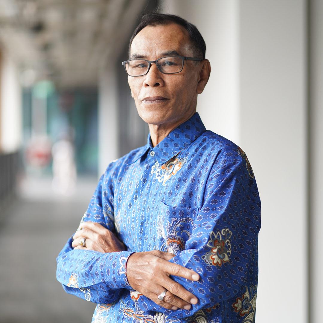 Jumaat Bin Soori, 68, Cleaner for Nee Soon Town Council
