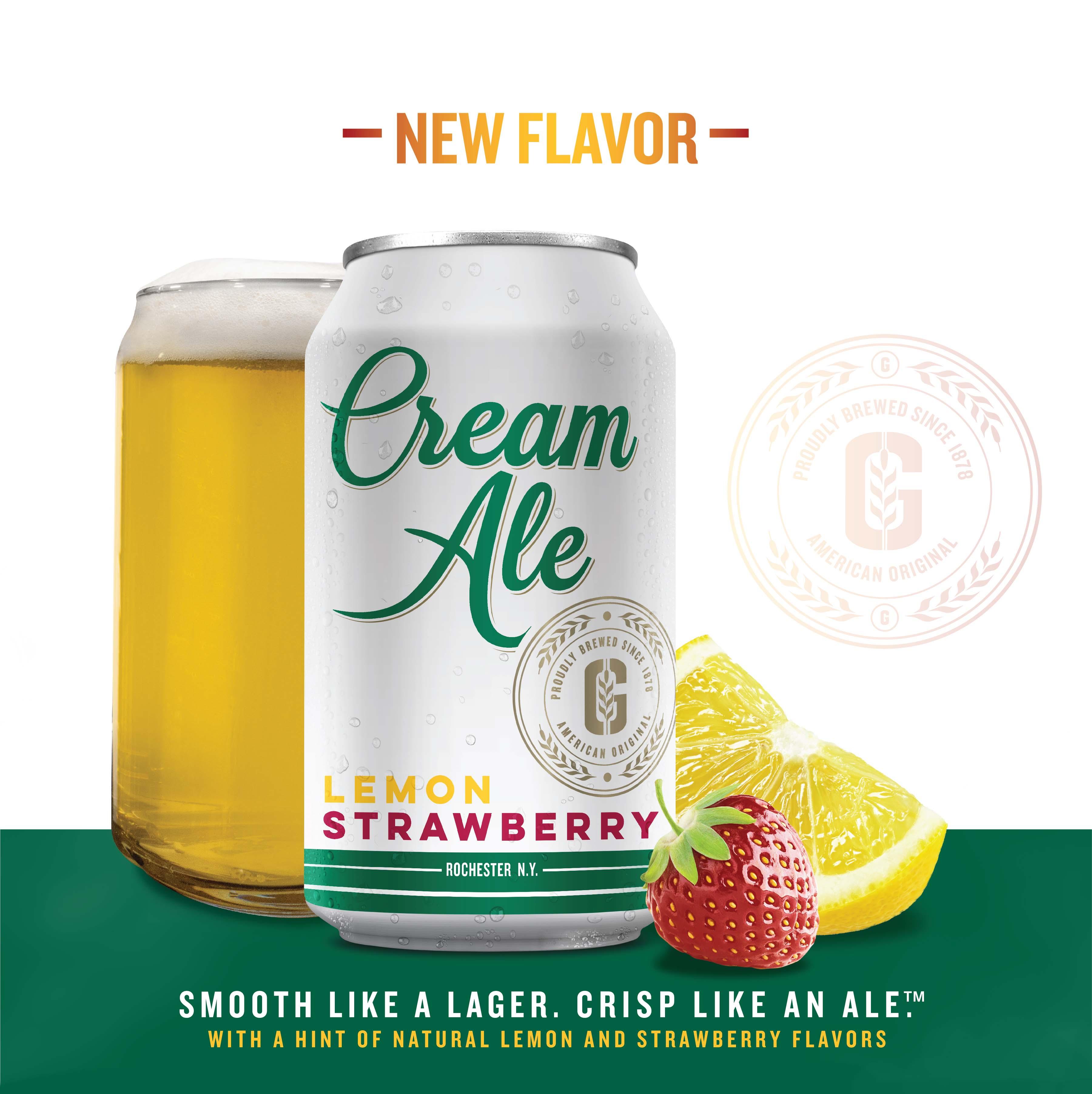 Lemon Strawberry Cream Ale