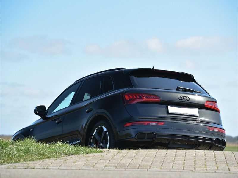 Audi SQ5 3.0TFSI 354pk Quattro Black Optic Alle Opties! Individual Lucht Tr.Haak Standk Ruitleder 360Cam afbeelding 4