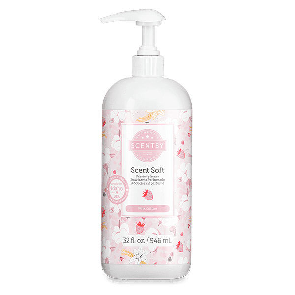 Pink Cotton Scent Soft