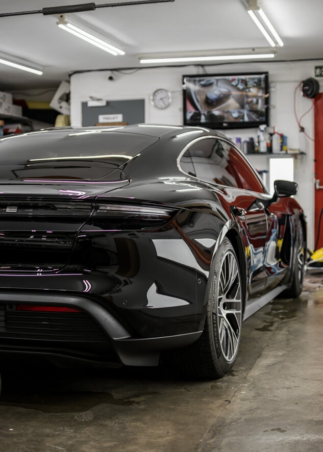 Porsche Taycan PPF,Paintwork Protection