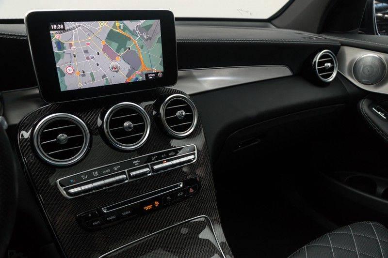 "Mercedes-Benz GLC GLC43 AMG 367pk 4Matic Panoramadak Luchtvering Nightpakket Distronic Keyless Burmester Sportleder+Memory Carbon AmbientLight ComandOnline 21"" Parktronic 360Camera Pdc afbeelding 25"