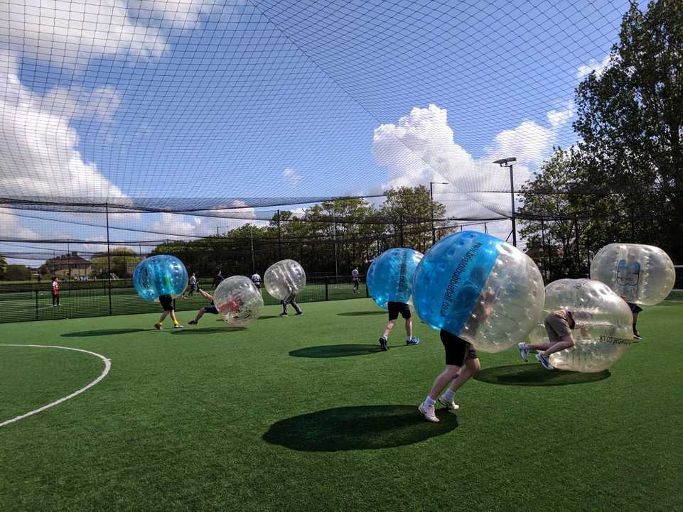 featured image thumbnail for post Bubble football