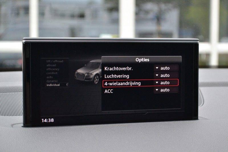 Audi Q7 3.0 TDI quattro 272pk S-Line 7p Pano Lucht Nachtz Trekh 4wielbest HUD ACC 360 afbeelding 17