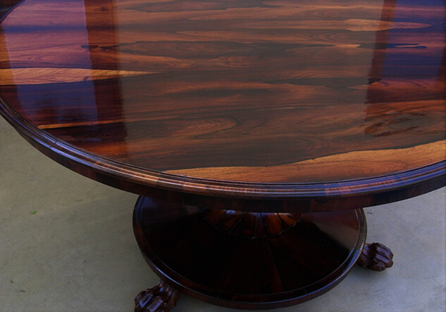 restored in good condition of dining table