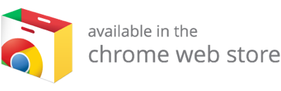 Available on Chrome web store