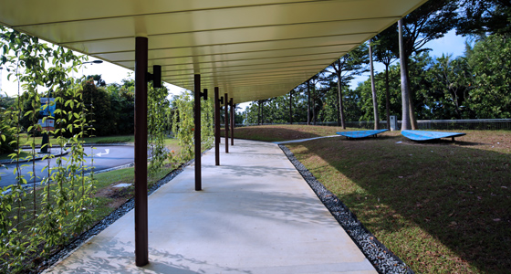 Image of Sheltered Linkway