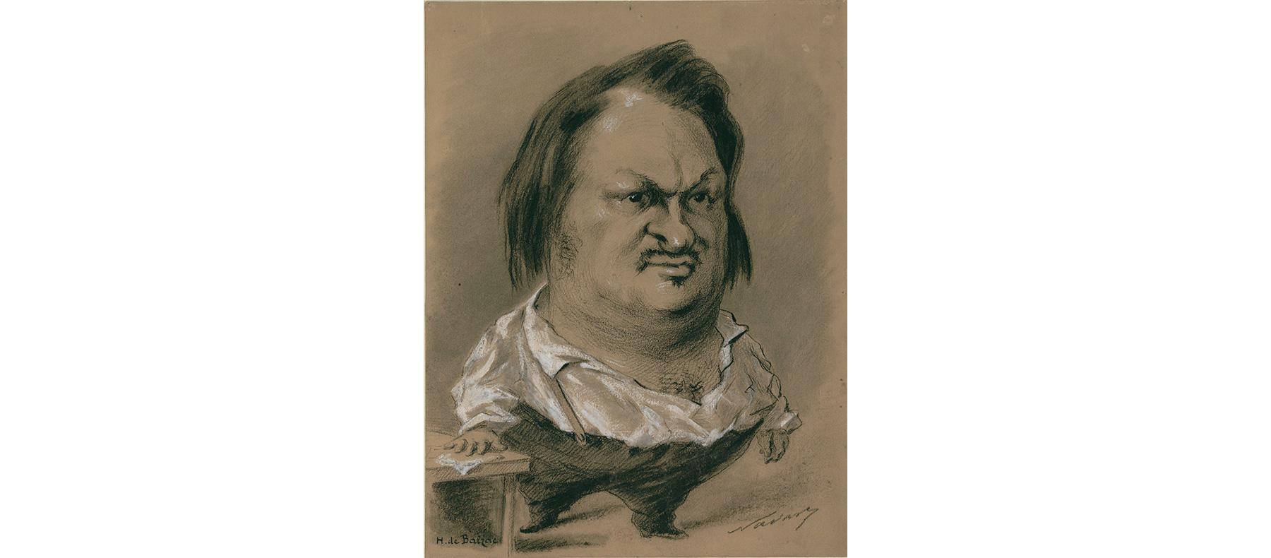 Карикатура Надара, 1850 год