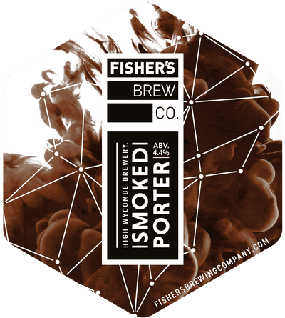 Fisher's Smoked Porter pump clip