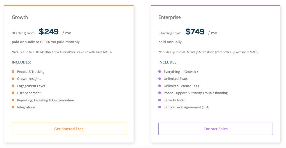 Userpilot pricing